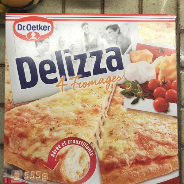 Delizza 4 fromages