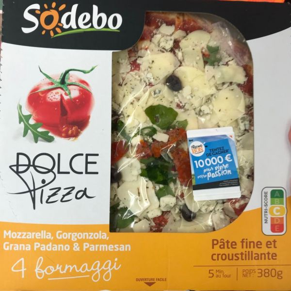 Dolce Pizza - 4 Formaggi