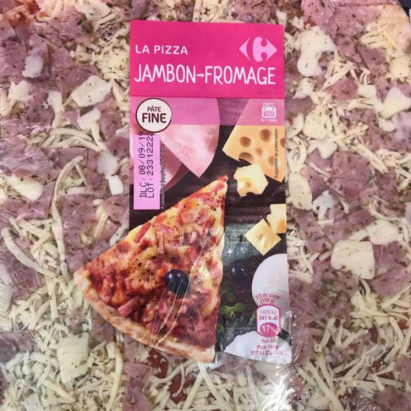 La Pizza Jambon Fromage