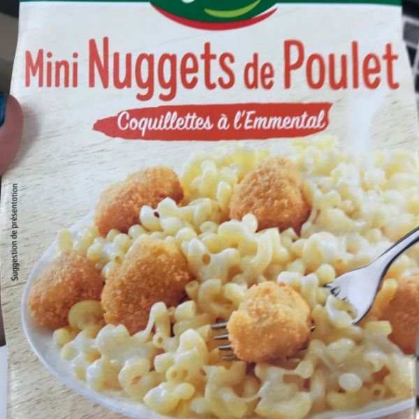 Mini Nuggets de Poulet Coquillettes à l'Emmental