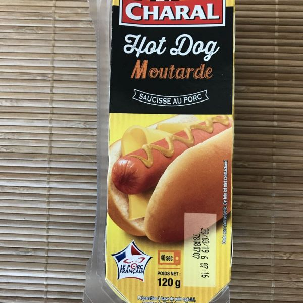 Snack Hot Dog Moutarde