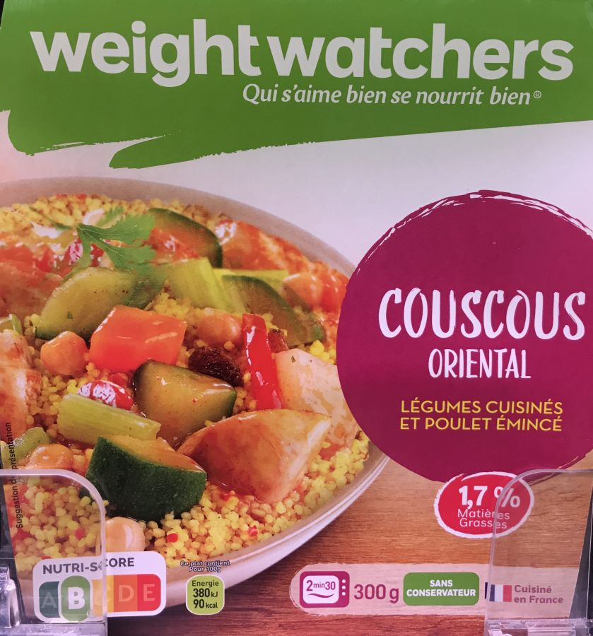 Darkfood Weight Watchers Couscous Oriental
